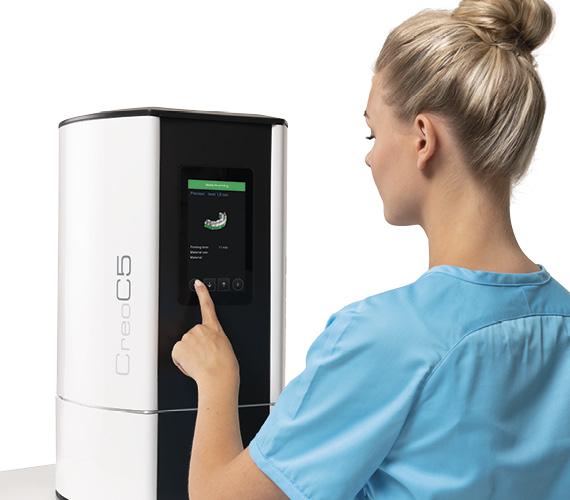 Planmeca Creo C5 3D printer for dental professionals