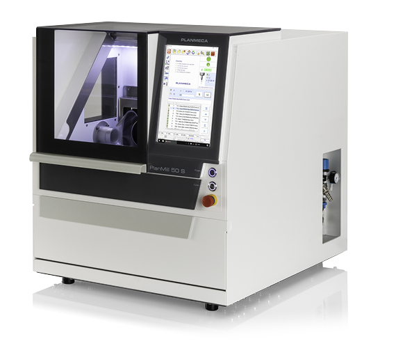 Planmeca PlanMill 50 S 5-axis milling unit for dental applications