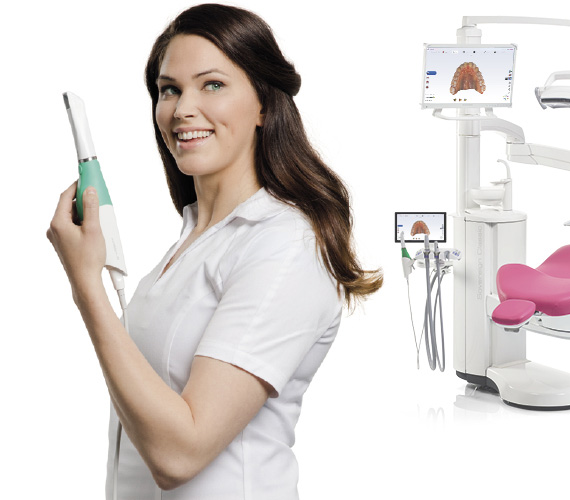 Planmeca Emerald intraoral scanner plug and play connectivity