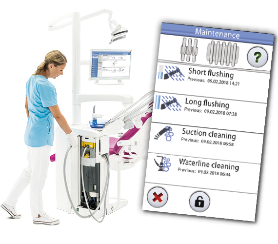 Centralised infection control