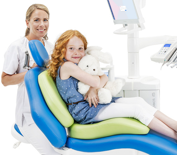 Planmeca dental care units patient comfort