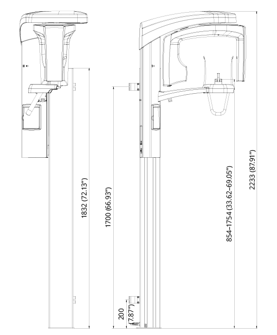 Technical specifications | Planmeca ProOne