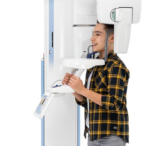 Planmeca ProMax 2D open patient positioning