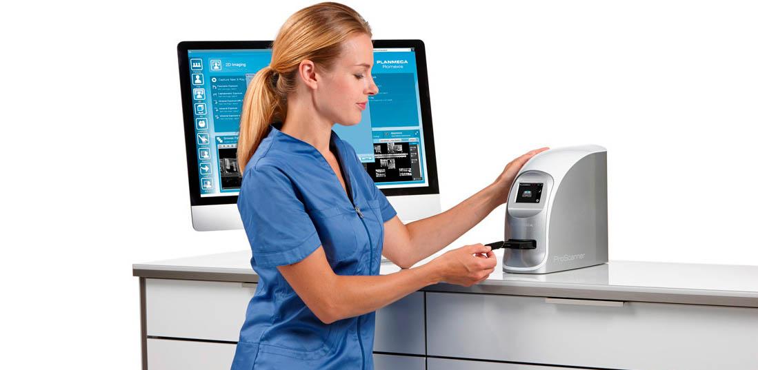 Imaging plate scanner   Planmeca ProScanner