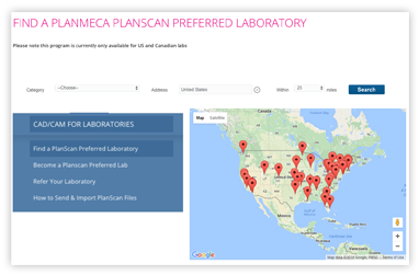 ScanOnly Preferred Lab search