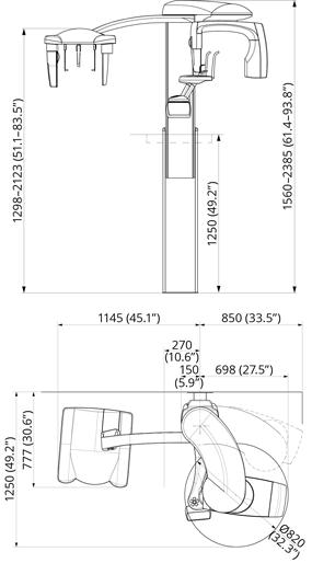 ProMax 2D S3 Dimensions